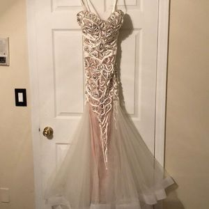 Gorgeous prom or event gown. Price is a STEAL !